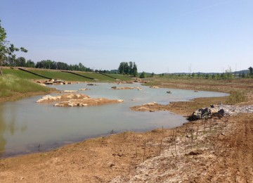 Waterway Runoff Erosion Control Mix
